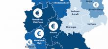 Baden-Württemberger schließen 22 Prozent höhere Kredite ab als Sachsen